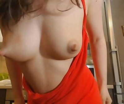 Youthful mother displays her huge inborn milky hooters --www.myclearsky.live-- 9 min 720p