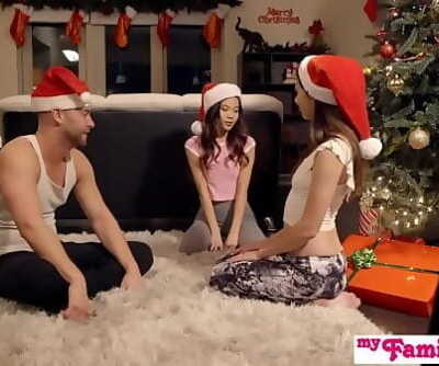 Stepbros Christmas Threesome And Sister CreampieMy Family Pies S5:E6 11 min 720p