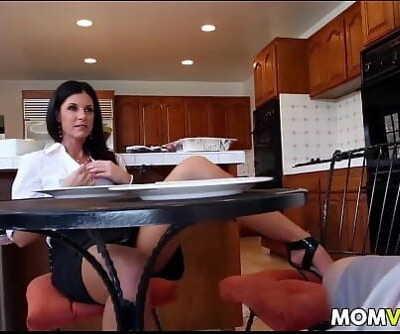 Stepmom India Summer seducing stepdaughter Kacy Lane 7 min