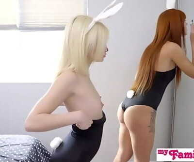 Bunnies Tricked By Step Brrother Ends With Easter Creampie S8:E1 12 min 720p