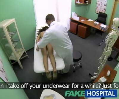 FakeHospital Slim Natural Youthfull Student Cums for Check up