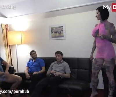 MyDirtyHobby - 2 Busty MILFS get Interchanged by 4 Friends in a Hotel Bums Romp