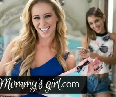 Cherie DeVille Helps Step Daughter with Vibrator