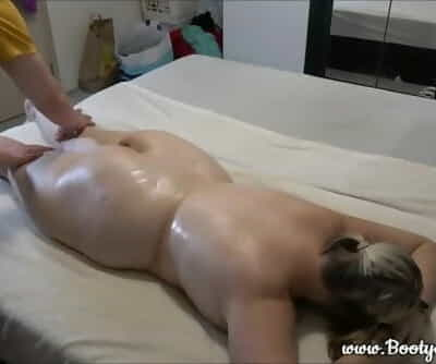 Elevated Plump Girl Gets Rubdown after a Hard Day